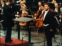 Bryn Terfel at a concert marking the 50th anniversary of the reopening of Vienna's State Opera