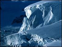 Glacier front (Bas)