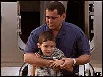 Elian and Juan Miguel Gonzales