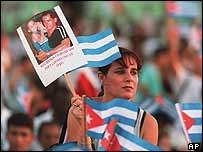Elian Gonzales rally in Cuba