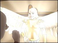 It's a Boy image of the Angel Gabriel