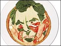 Tony Blair pizza