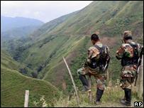 Patrulla de las FARC