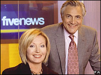 John Suchet with Kirsty Young