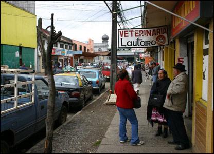 Temucho, Chile.   Foto: Manuel Toledo