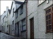 Row of terraced houses