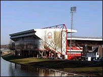 Nottingham Forest's City Ground stadium