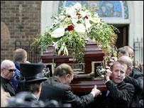 Desmond Noonan's funeral