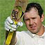 Ricky Ponting's bat is the subject of scrutiny