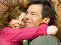 Rene Russo and Dennis Quaid in Yours, Mine & Ours