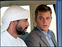 Matt Damon in Syriana