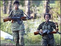 Tamil Tiger rebels