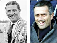 Chelsea's title-winning managers - Ted Drake and Jose Mourinho