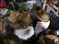 Electores en Honduras