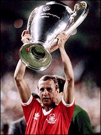 Nottingham Forest's European Cup-winning captain John McGovern