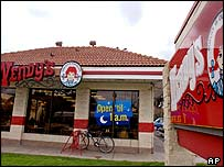 The Wendy's restaurant in San Jose, California where the incident happened