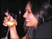 Indian drinker