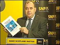 Alex Salmond launches his blueprint