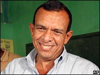 Porfirio Lobo of the ruling National Party