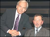 John Humphrys and David Blunkett on Celebrity Mastermind