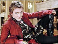 Image of Casanova, played by actor David Tennant