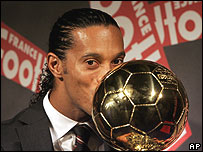 Ronaldinho, Balón de Oro 2005.