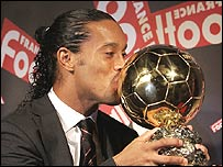 Brazil and Barcelona playmaker Ronaldinho