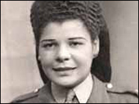 Patricia Smith in uniform