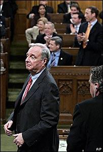 El primer ministro canadiense, Paul Martin.