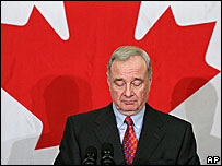 Canadian PM Paul Martin