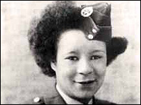Vera Johnson in uniform