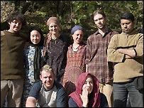 Front row: Cameron Tyers (Australia), Katie Carmichael (Scotland). Back Row: Nick Marten (New Zealand), Xu Mi (Japan), Jenny (Scotland), Petra (Austria), Wesley Olsen (Canada), Ashar Aneel (Pakistan)