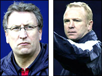 Portsmouth contenders Neil Warnock and Alex McLeish