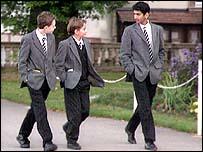 Boarding school pupils