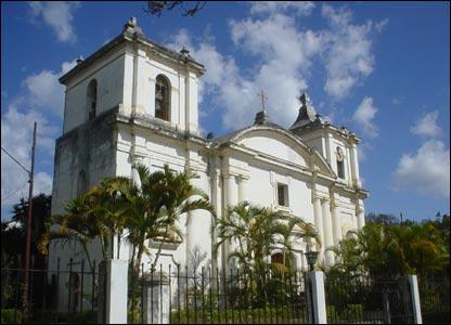 Iglesia de la Inmaculada Concepción en la ciudad de Danlí