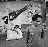Seven Up poster in Vietnam
