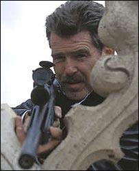 Pierce Brosnan in The Matador