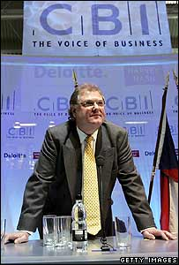 CBI director general Sir Digby Jones