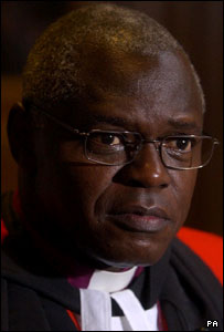 The Archbishop of York - the Right Reverend John Sentamu Picture: Chris Young/PA