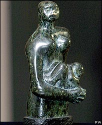 Henry Moore's Mother and Child