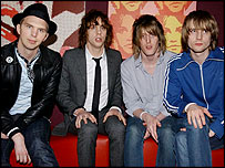 Razorlight: album climbed 41 places this week