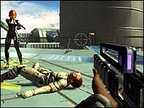 Screenshot of Perfect Dark Zero