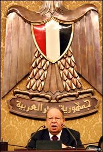 Fathi Sorour, Egypt's parliamentary speaker