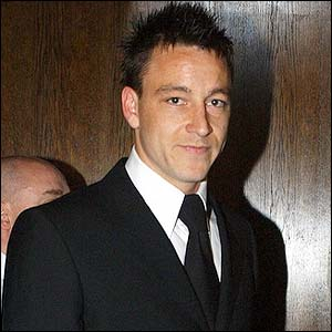 Chelsea's John Terry arrives for the PFA Awards