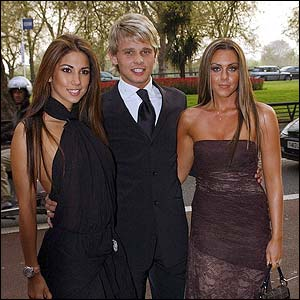 Celebrities Leilani, Jeff Brazier and Liberty X singer Michelle Heaton