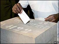 Togo voter
