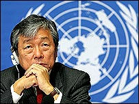 Lee Jong-wook, head of the WHO