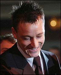 Chelsea captain John Terry secures the PFA Player of the Year Award