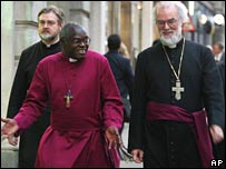 Dr John Sentamu and Dr Rowan Williams