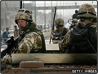 British troops in the Iraqi city of Ammarah